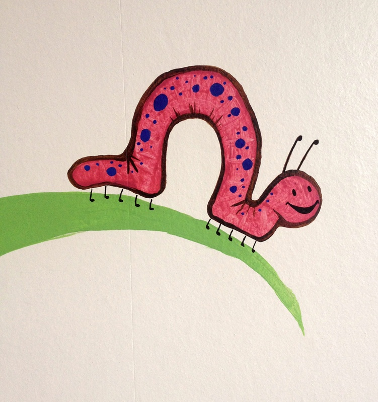 Sonya Scott Nursery - Caterpillar